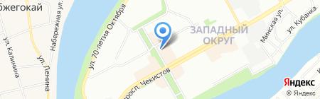 Cd-бум на карте Краснодара