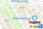 Схема проезда до компании МТС в Краснодаре