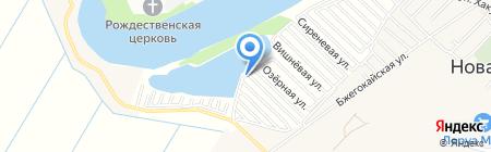 Домик у озера на карте Хомутов