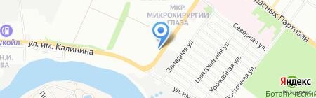 Арлиан на карте Краснодара