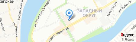 Элегия на карте Краснодара