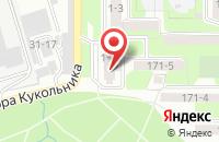 Схема проезда до компании Авангард в Таганроге