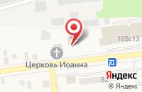 Схема проезда до компании Церковь Спаса Преображения в Куровском