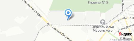 Росалстрой на карте Краснодара