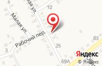 Схема проезда до компании Дикси в Покровском