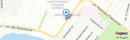 Марина на карте Краснодара