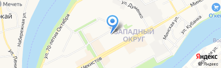 Детский сад №46 на карте Краснодара