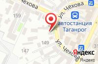 Схема проезда до компании Люксопт в Таганроге