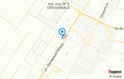 Местоположение на карте пункта техосмотра по адресу г Краснодар, ул им. Дмитрия Есаулко, д 67