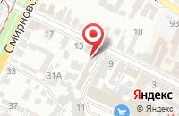 Схема проезда до компании Донтел в Таганроге