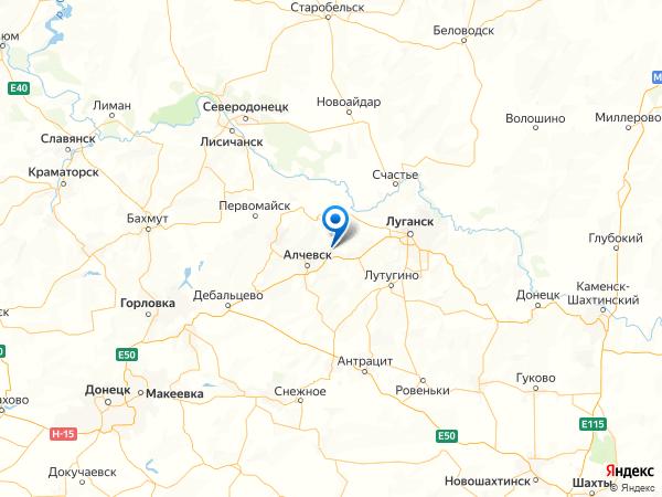 поселок городского типа Ивановское на карте