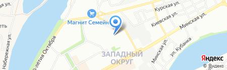 Банкомат Банк ФК ОТКРЫТИЕ на карте Краснодара