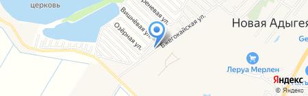 Ясная Поляна на карте Хомутов
