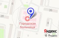 Схема проезда до компании КУРОВСКАЯ БОЛЬНИЦА в Куровском