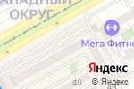 Схема проезда до компании Джин в Краснодаре