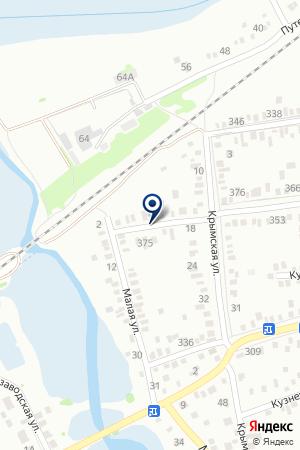 ТЕПЛОСЕТИ АВАРИЙНАЯ СЛУЖБА на карте Тимашевска