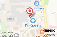Схема проезда до компании Vektr-A в Куровском