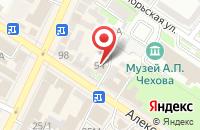Схема проезда до компании Технополюс в Таганроге