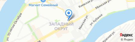 Клиницист плюс на карте Краснодара