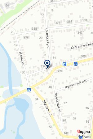 АНИС НЕДВИЖИМОСТЬ на карте Тимашевска