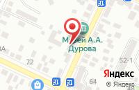 Схема проезда до компании Лпинфо в Таганроге