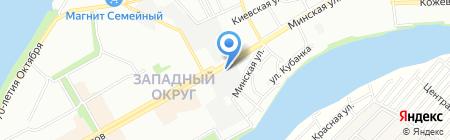 DD AUTO на карте Краснодара