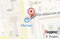Схема проезда до компании СВ Плюс в Куровском