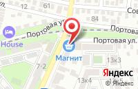 Схема проезда до компании Энерго-Юг в Таганроге