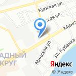 Аргумент на карте Краснодара