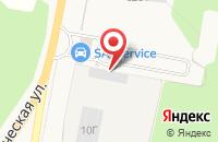 Схема проезда до компании Металл профиль в Куровском