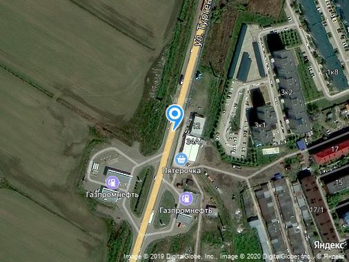 Продаем коммерческий участок, 217000 м², Яблоновский, улица Тургеневское шоссе