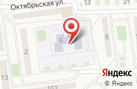 Схема проезда до компании Детский сад №44 в Куровском