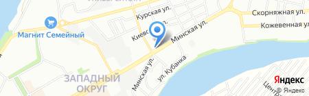 ДомКом на карте Краснодара