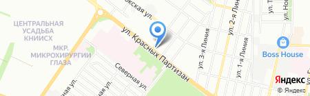 Элина на карте Краснодара
