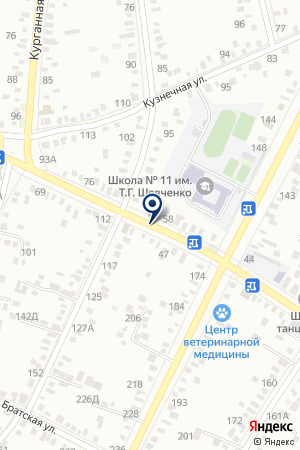 ТИМАШЕВСКАЯ ДЕТСКАЯ ХУДОЖЕСТВЕННАЯ ШКОЛА на карте Тимашевска