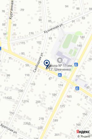 ДЕТСКИЙ САД № 2 на карте Тимашевска