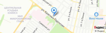 Электрик на карте Краснодара