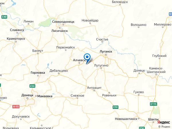село Троицкое на карте
