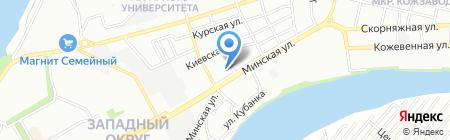 Портал на карте Краснодара