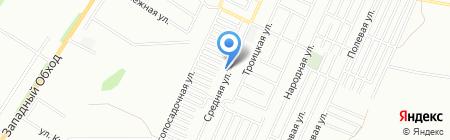 Стодорог на карте Краснодара