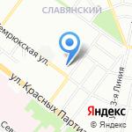Ресанта на карте Краснодара