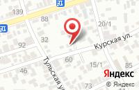 Схема проезда до компании Элеком-Юг в Краснодаре