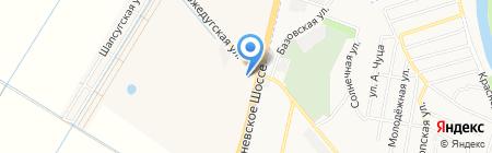 Юг-Дом на карте Краснодара
