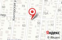 Схема проезда до компании Проф-Ит в Таганроге