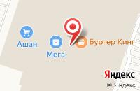 Схема проезда до компании Золотой Ларец в Краснодаре