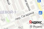Схема проезда до компании Ангел в Яблоновском