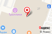 Схема проезда до компании Золотой Каприз в Краснодаре