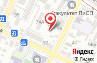 Схема проезда до компании Промсталь в Таганроге
