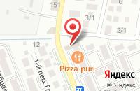 Схема проезда до компании Татарча в Перекатном