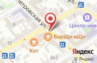 Схема проезда до компании Югэнергострой в Таганроге